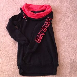 Calvin Klein Performance Cowl Neck Sweatshirt